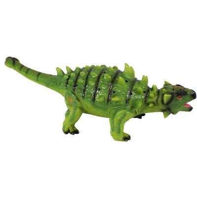 26 Inch Ankylosaurus Soft Dinosaur Figure image number 2
