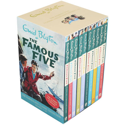 The Famous Five: 10 Book Box Set image number 1