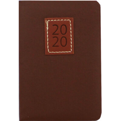 Tan Executive 2020 Pocket Week to View Diary image number 1