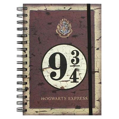 A5 Harry Potter Hogwarts Express Notebook image number 1
