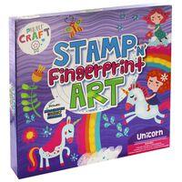 Stamp Fingerprint Art Set: Unicorn