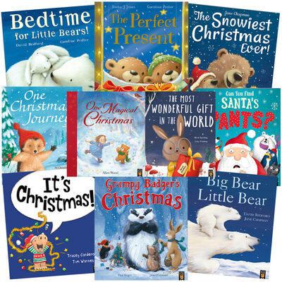 Christmas Bedtime: 10 Kids Picture Books Bundle image number 1