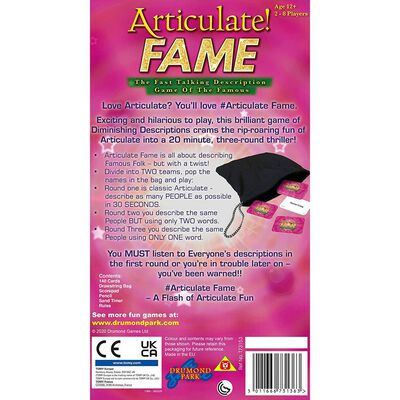 Articulate! Fame Game image number 4
