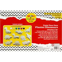 Paint Your Own Plaster Dinosaurs