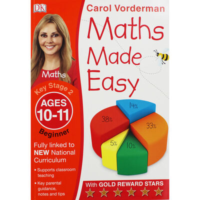 Maths Made Easy: Beginner - Ages 10-11 image number 1