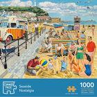 Seaside Nostalgia 1000 Piece & Cottage Garden 500 Piece Jigsaw Puzzle Bundle image number 2