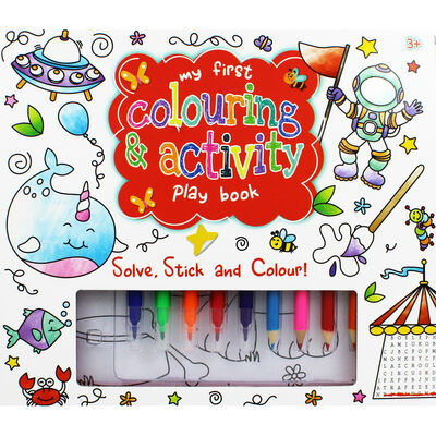 My First Colouring and Activity Book image number 1