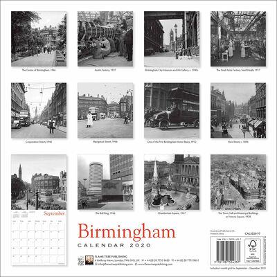 Birmingham Heritage 2020 Wall Calendar image number 3
