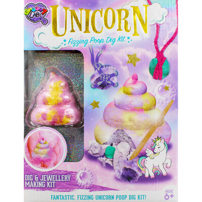 Unicorn Fizzing Poop Dig Kit image number 2