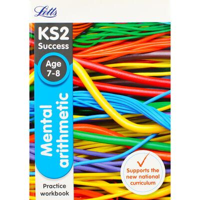 Letts KS2 Success Mental Arithmetic: Ages 7-8 image number 1