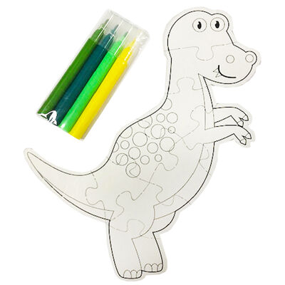 Colour Your Own Dinosaur Puzzle image number 2
