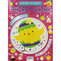 Chirpy Chick Sticker Activity Book