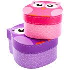 Owl Shaped Storage Boxes - Set of 2 image number 4