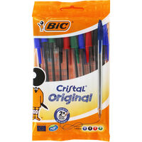 Bic Cristal Original Multi Ballpoint Pens - Pack of 10