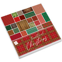Traditional Christmas Paper Pad