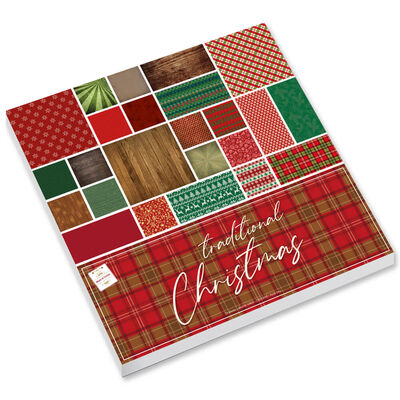 Traditional Christmas Paper Pad image number 1