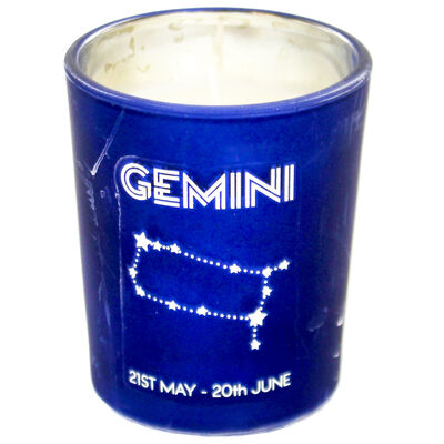 Zodiac Collection Gemini Fresh Vanilla Candle image number 2