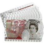 Metallic 50 Pound Note Style Playing Cards - Assorted image number 3