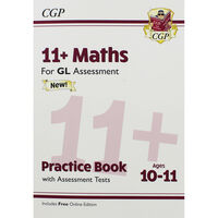 CGP 11+ Maths: Practice Books with Assessment Tests
