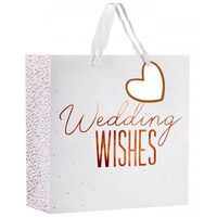 Large Heart Gift Bag