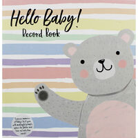 Hello Baby! Record Book