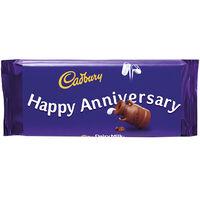 Cadbury Dairy Milk Chocolate Bar 110g - Happy Anniversary