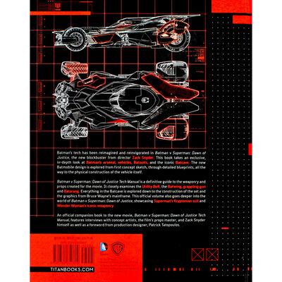 Batman v Superman: Dawn of Justice Tech Manual image number 4