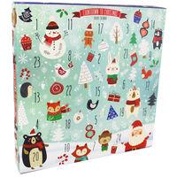 Fill Your Own Advent Calendar - Snowy Scene