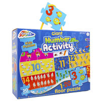 Giant Number Activity 30 Piece Floor Puzzle