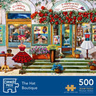 The Hat Boutique 500 Piece Jigsaw Puzzle image number 1