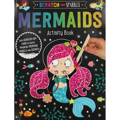 Scratch and Sparkle Mermaids Activity Book image number 1