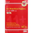 CGP 11+ Practice Papers: Verbal Reasoning Comprehension Maths and Non-Verbal Reasoning image number 1