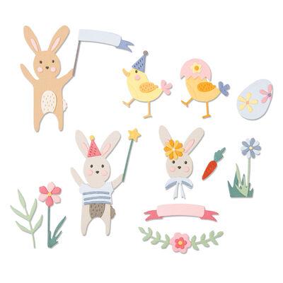 Easter Celebration Metal Cutting Die Set image number 2