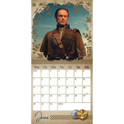 The Official Outlander 2021 Calendar image number 2