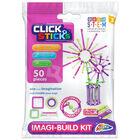 Clicksticks Pink 50 Piece Set image number 1