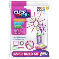 Clicksticks Pink 50 Piece Set