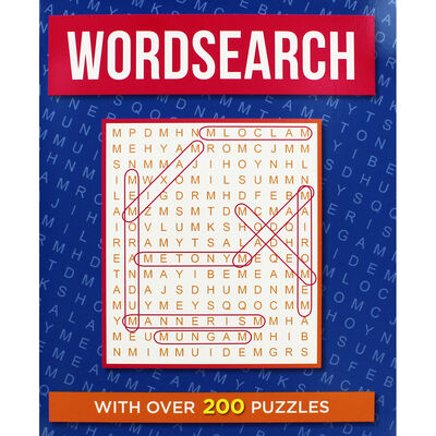 Classic Wordsearch: Dark Blue image number 1