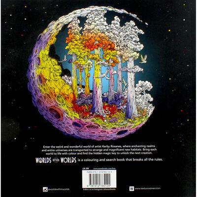 Worlds Within Worlds Colouring Book image number 3