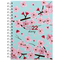 A5 Sakura 2022 Week to View Diary