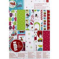 Love Santa A4 Ultimate Die-Cut and Paper Pack