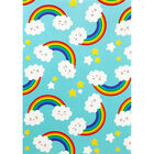 A5 Soft Cover Rainbow Plain Notebook image number 1