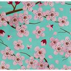 Cherry Blossom Giant Reusable Shopping Bag image number 3