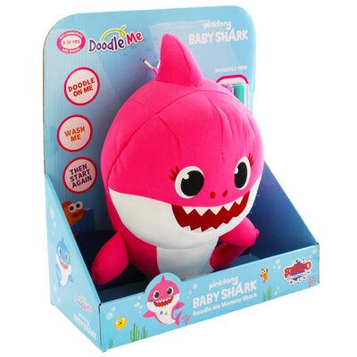 Doodle Me Pink Mommy Shark Plush image number 1