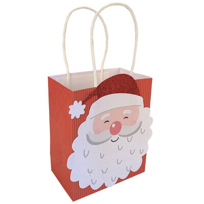 Assorted Christmas Treat Bags: Pack of 6 image number 2