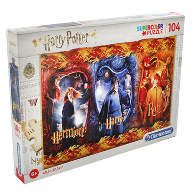 Harry Potter 104 Piece Jigsaw Puzzle image number 1