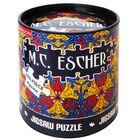 M.C. Escher 100 Piece Jigsaw Puzzle image number 1