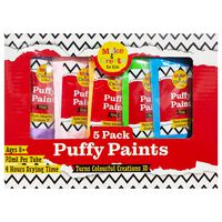 Puffy Paints: Pack of 5