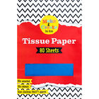Assorted Coloured Tissue Paper - 80 Sheets image number 1