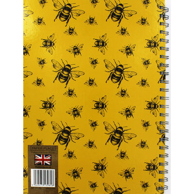 A4 Wiro Bee Lined Notebook image number 3