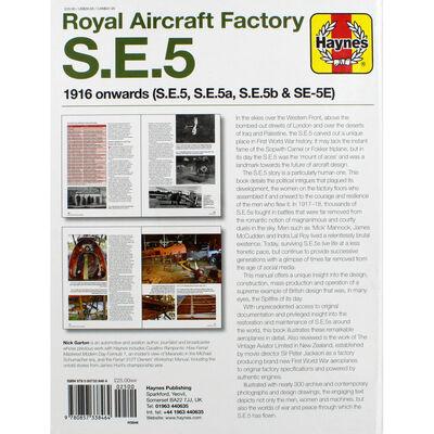 Haynes Royal Aircraft Factory S E 5 Workshop Manual image number 3